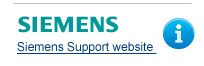 Siemens Support website